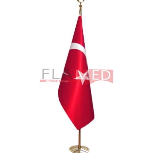 Türk Makam Bayrağı Takımı (Pirinç)